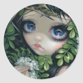 """Poisonous Beauties XII: Black Locust"" Sticker"