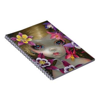 """""""Poisonous Beauties XIII: Columbine"""" Notebook"""