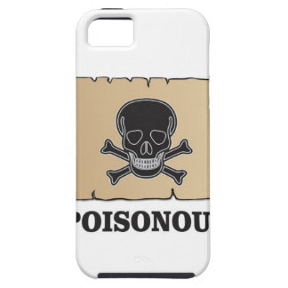 poisonous bones iPhone 5 cover