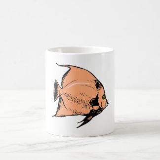 Poissons d ange de pêche mugs à café
