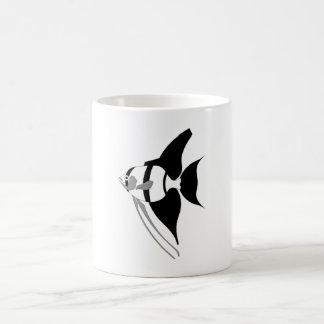 Poissons d ange tasses à café