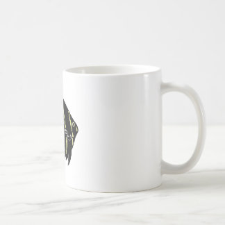 Poissons noirs d ange tasse à café