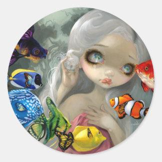 """""""Poissons Volants: Arc-en-Ciel"""" Sticker"""