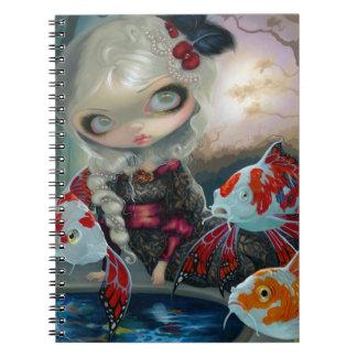 """""""Poissons Volants: Le Bassin des Carpes"""" Notebook"""