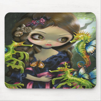 """Poissons Volants: L'Hippocampe"" Mousepad"