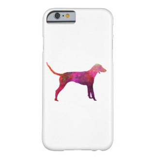Poitevin in watercolor barely there iPhone 6 case