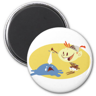 Poke-A-Slime 2 Inch Round Magnet
