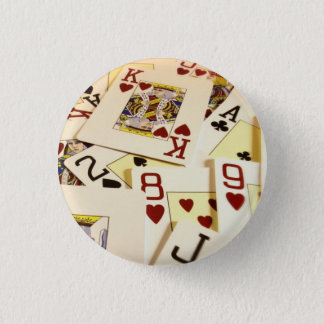 POKER 1 INCH ROUND BUTTON