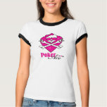 Poker Ace Skull Lady Tee Shirts