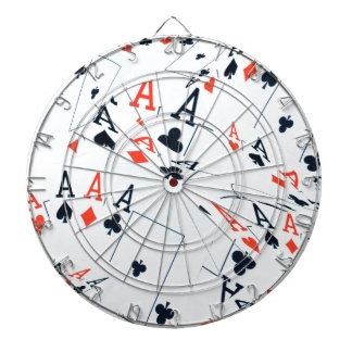 Poker,_Aces,_Pattern,_ Dartboard