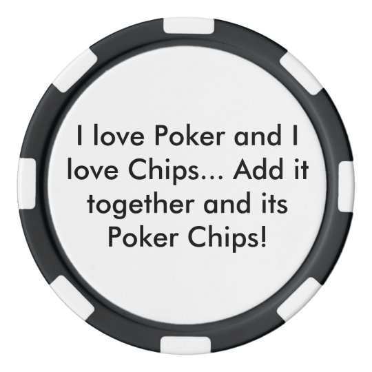 Poker and Chips Poker Chip (Black) Poker Chips