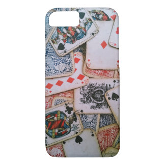 """""""Poker"""" Apple iPhone 7, Barely There Phone Case"""