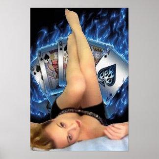 Poker Babe Poster