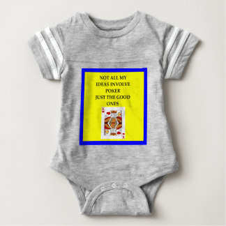 POKER BABY BODYSUIT