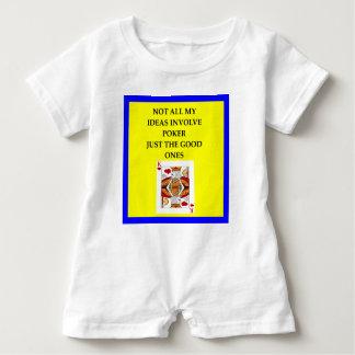 POKER BABY ROMPER