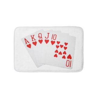 Poker Bath Mat