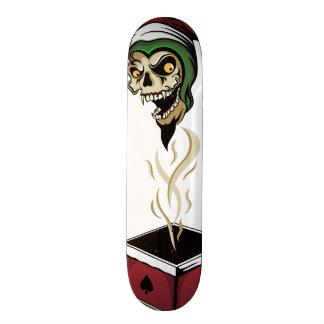 Poker Box Joker Zombie Skull Skateboard Deck