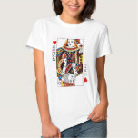 Poker Card Queen & King of Hearts Wedding Gift Shirts