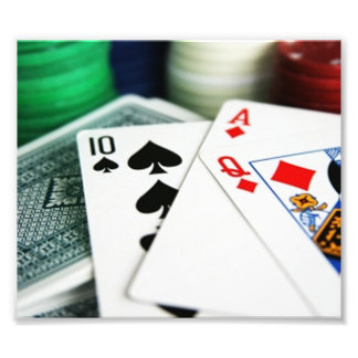 Poker Cards Photo Art