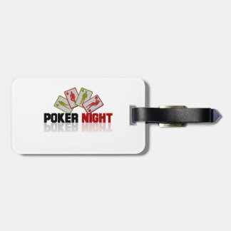 Poker Casino Luggage Tag