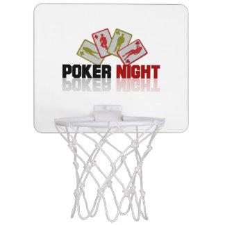 Poker Casino Mini Basketball Hoop