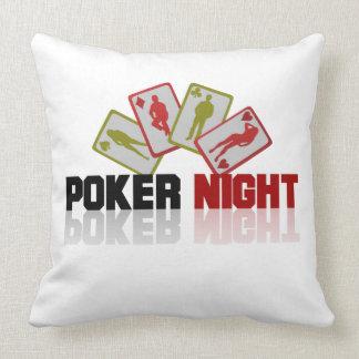 Poker Casino Throw Pillow