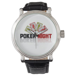 Poker Casino Wrist Watch