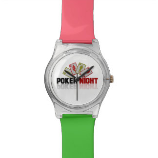Poker Casino Wrist Watches