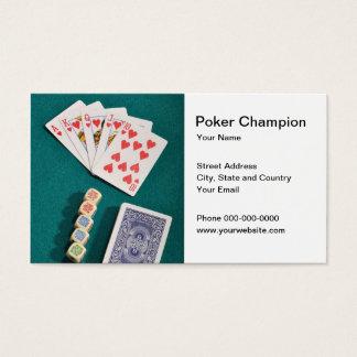 Poker Champion Business Card