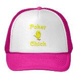 Poker Chick Mesh Hat