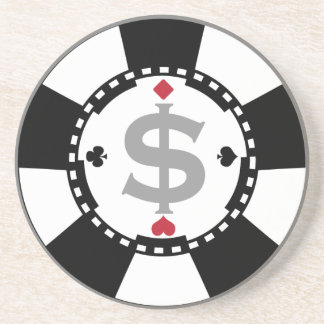 Poker Chip Coaster