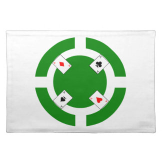Poker Chip - Green Placemat