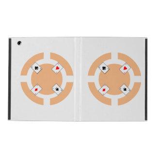 Poker Chip - Peach iPad Cases