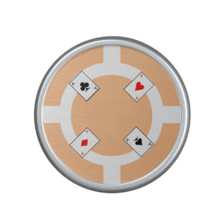 Poker Chip - Peach Speaker