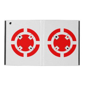 Poker Chip - Red iPad Folio Case