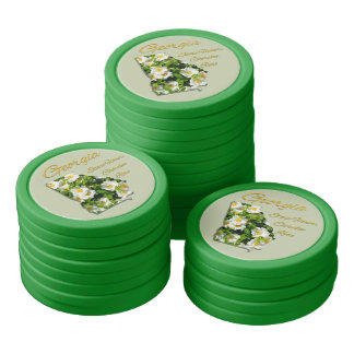 Poker Chip Set - GEORGIA