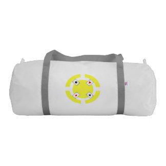 Poker Chip - Yellow Gym Bag