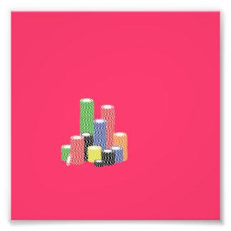 poker chips photograph