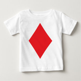 Poker Diamond Card Playing Suit Baby T-Shirt