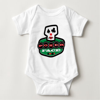 Poker Face Baby Bodysuit