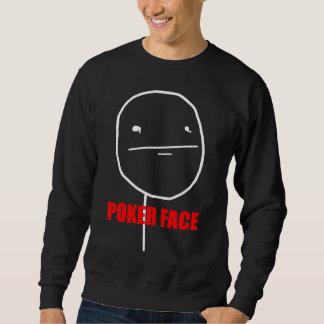 Poker Face - Black Sweatshirt