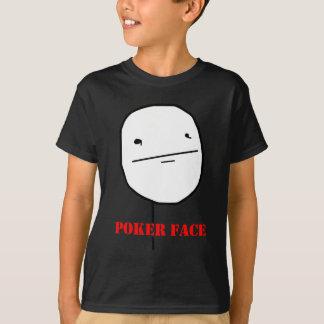 Poker face - meme tshirts