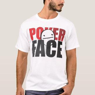 Poker Face Meme White T-shirt! T-Shirt