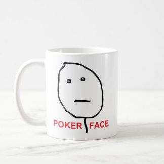 Poker Face Rage Face Meme Coffee Mug