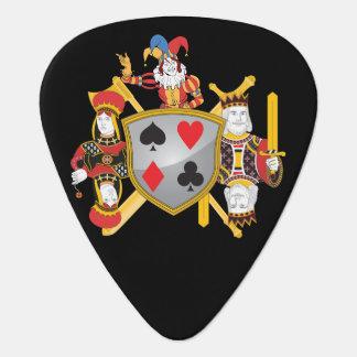 Poker Family Crest Pick