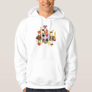 Poker Family Crest Pullover