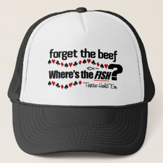Poker Fish hat 1
