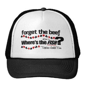 Poker Fish hat 1