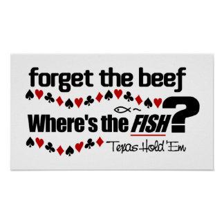 Poker Fish poster