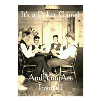 Poker Game CARDS 1890 VINTAGE PHOTOGRAPH POKER